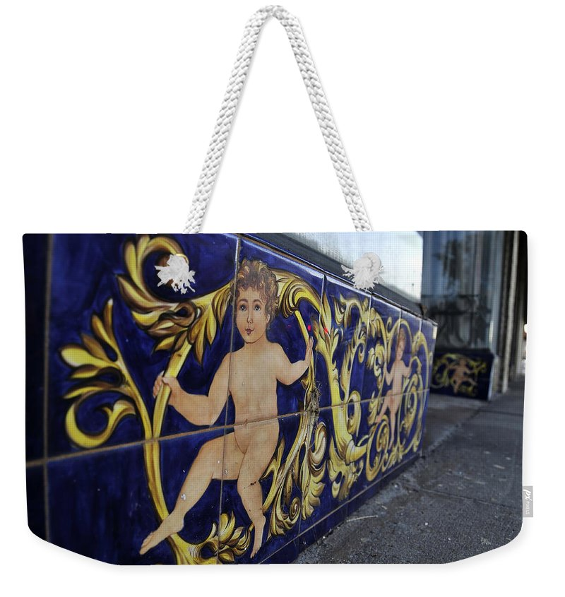 Fine Art Photography Weekender Tote Bag featuring the photograph Children Of Old Ybor by David Lee Thompson