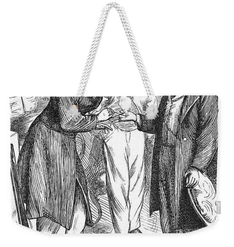 19th Century Weekender Tote Bag featuring the photograph Christian Sch�nbein by Granger
