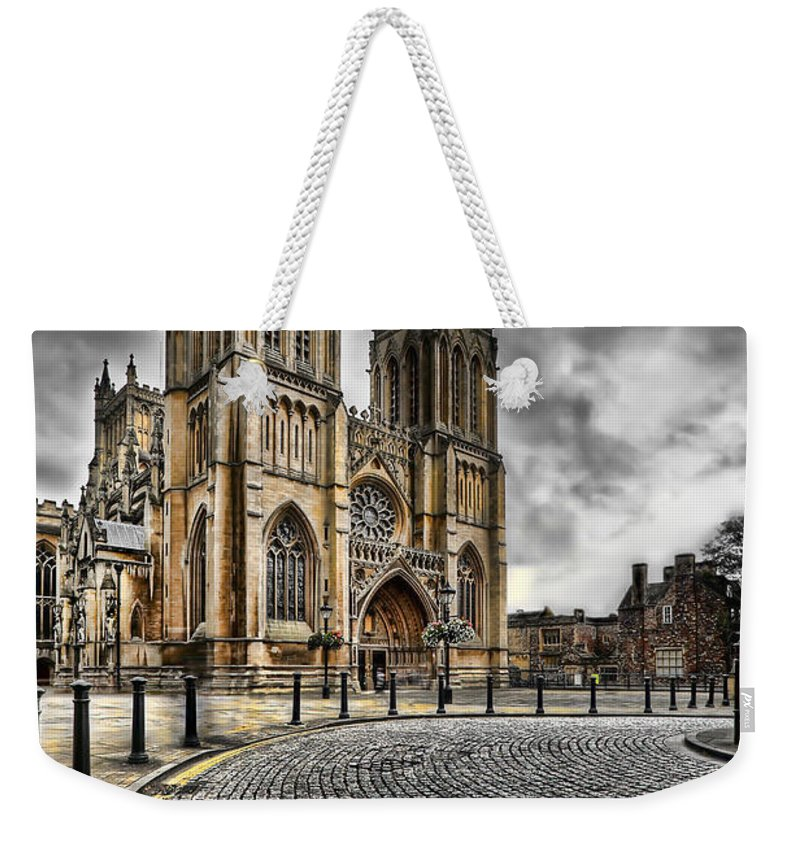 Hdr Weekender Tote Bag featuring the photograph Church Of England by Adrian Evans