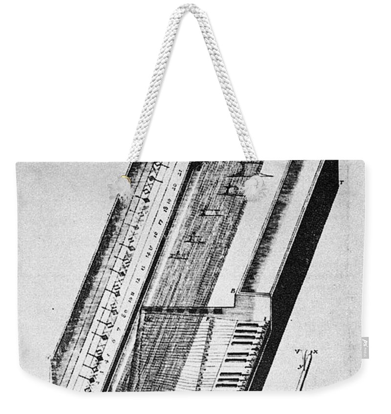 1636 Weekender Tote Bag featuring the photograph Clavichord, 1636 by Granger