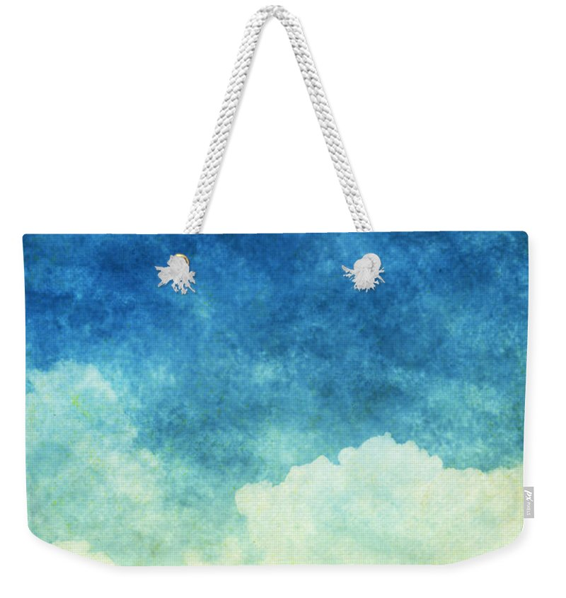 Art Weekender Tote Bag featuring the painting Cloud And Sky by Setsiri Silapasuwanchai