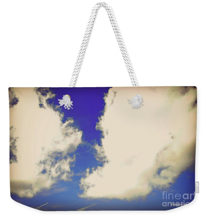 Clouds Weekender Tote Bag featuring the photograph Clouds-10 by Paulette B Wright
