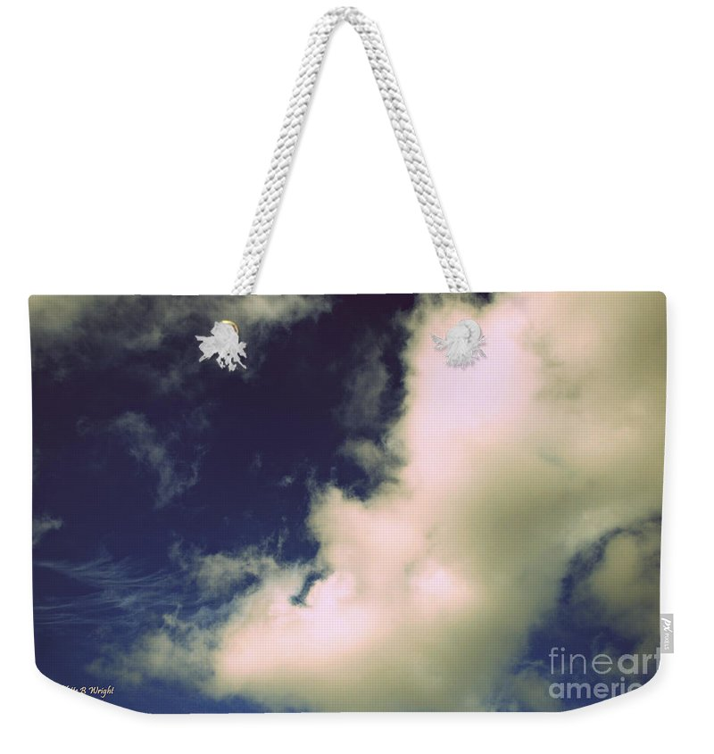 Clouds Weekender Tote Bag featuring the photograph Clouds-11 by Paulette B Wright