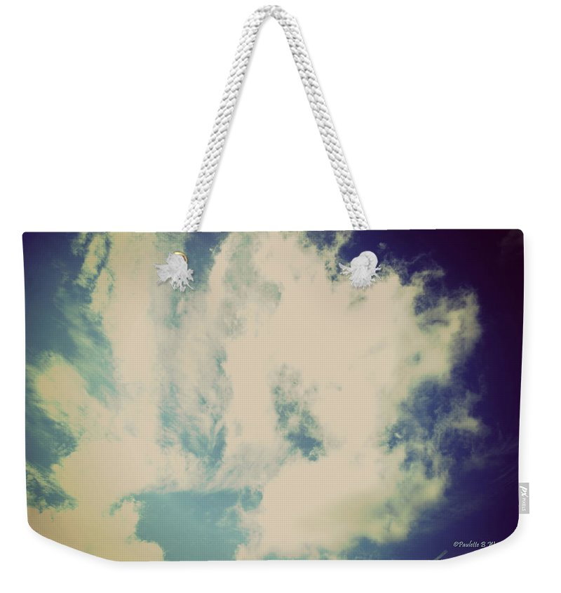 Clouds Weekender Tote Bag featuring the photograph Clouds-5 by Paulette B Wright