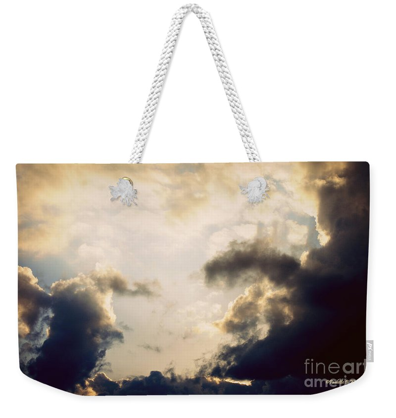 Clouds Weekender Tote Bag featuring the photograph Clouds-9 by Paulette B Wright