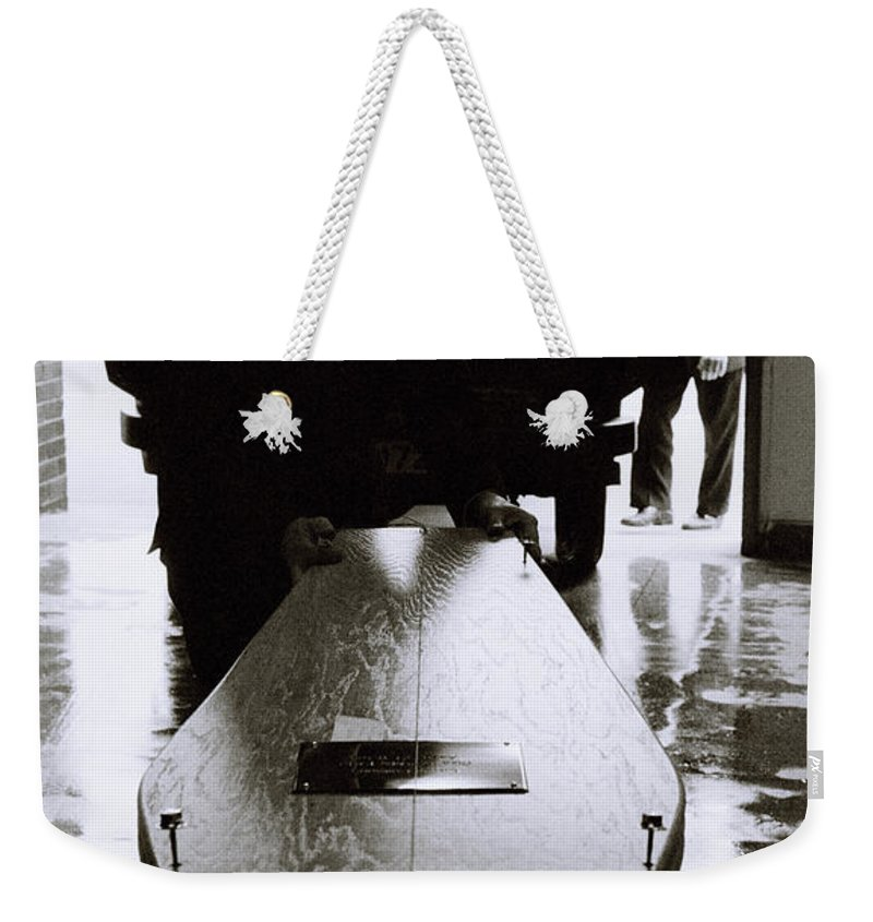 Death Weekender Tote Bag featuring the photograph The End by Shaun Higson