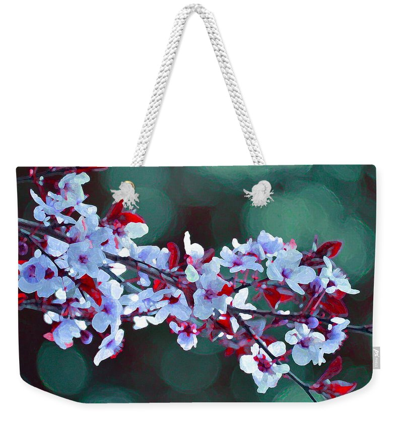 Tree Weekender Tote Bag featuring the photograph Color 60 by Pamela Cooper