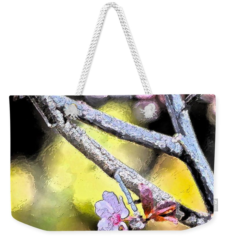 Tree Weekender Tote Bag featuring the photograph Color 62 by Pamela Cooper