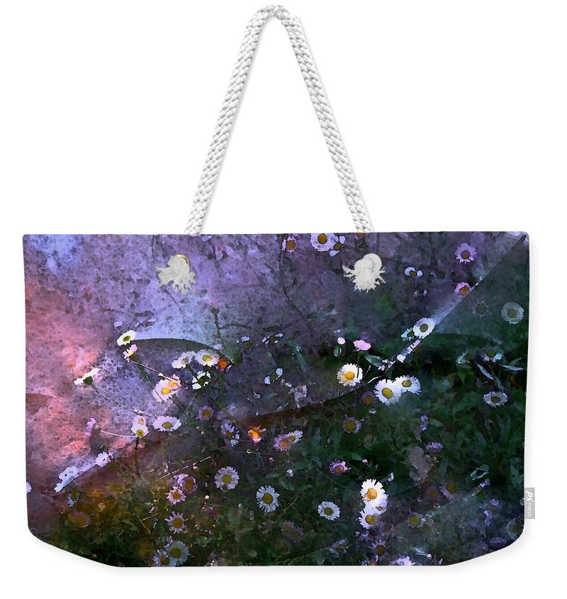 Floral Weekender Tote Bag featuring the photograph Color 99 by Pamela Cooper