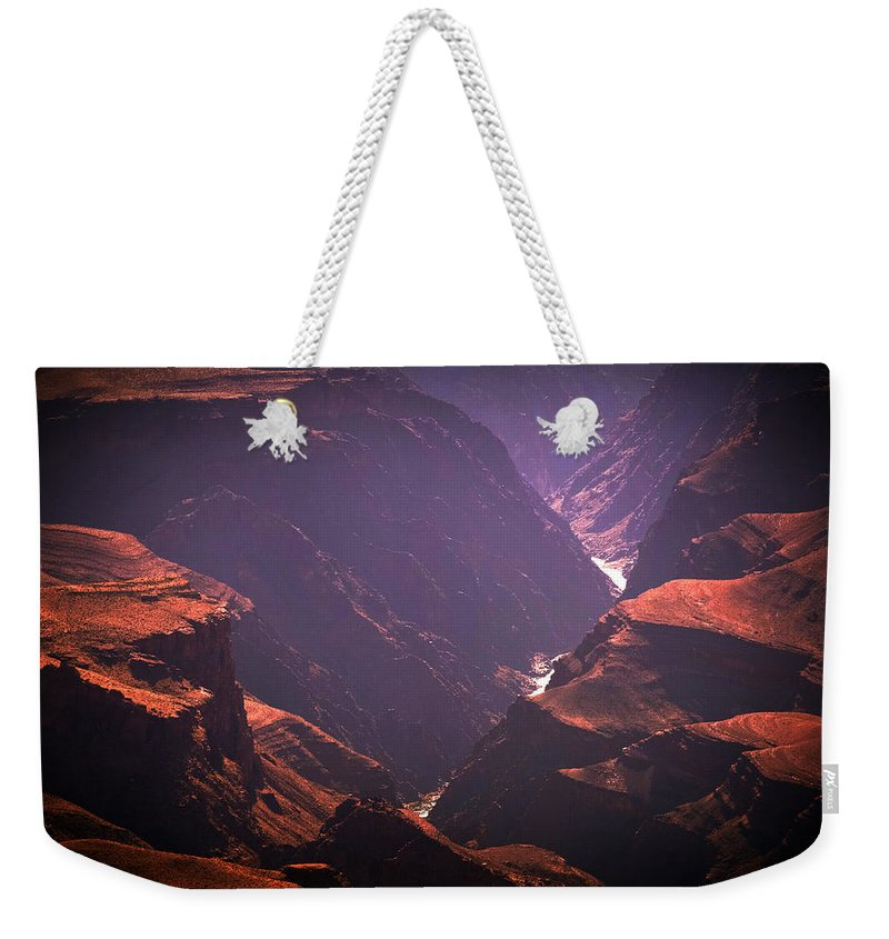 Colorado River Weekender Tote Bag featuring the photograph Colorado River II by Julie Niemela