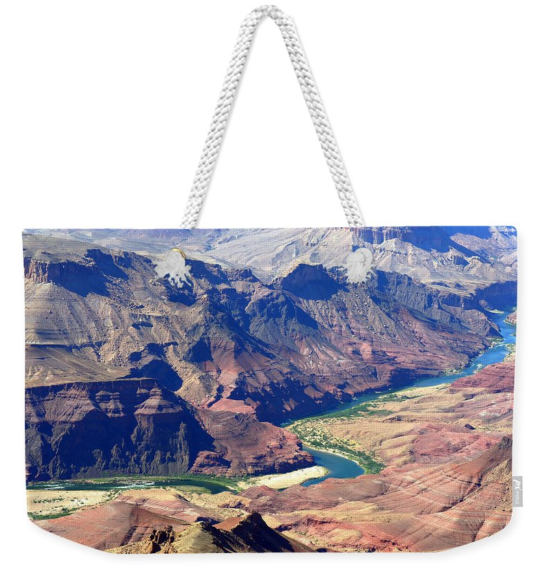 Colorado River Weekender Tote Bag featuring the photograph Colorado River IIi by Julie Niemela