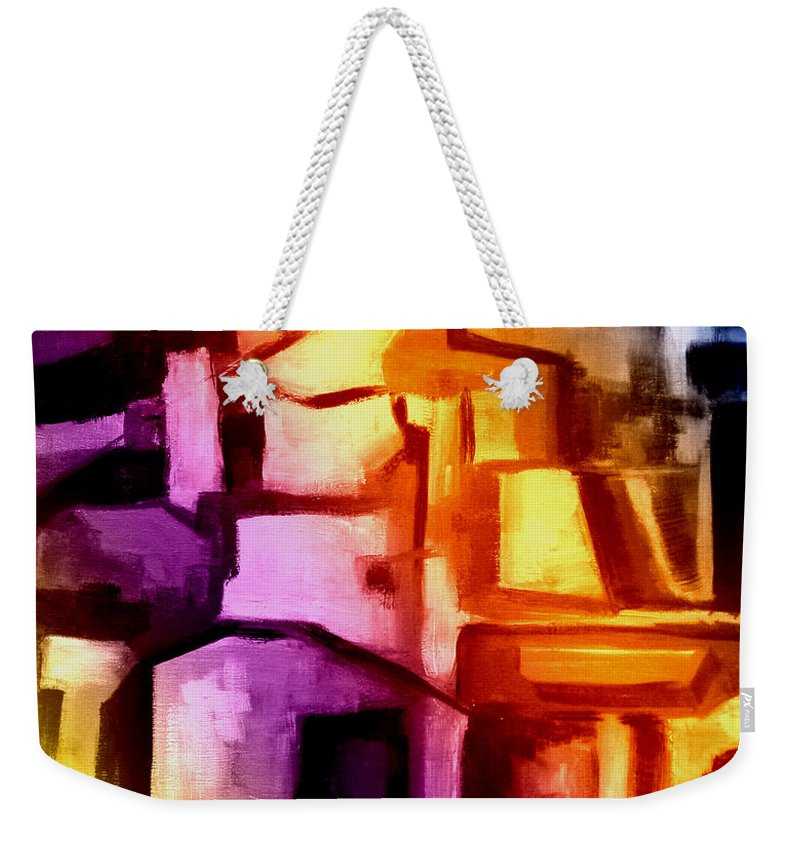 Australian Weekender Tote Bag featuring the painting Coming Home 7 by Giro Tavitian