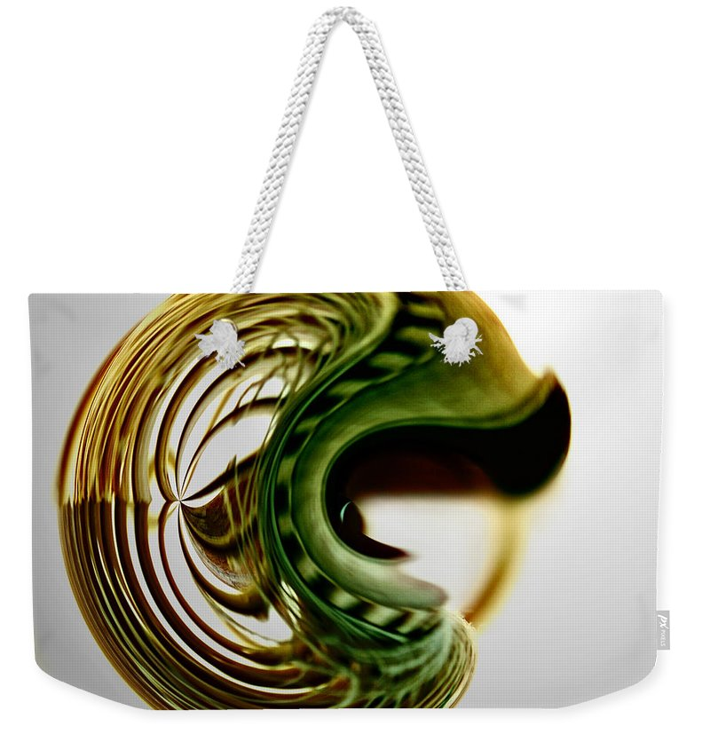 Sphere Weekender Tote Bag featuring the photograph Continuous Agitation by Adam Vance