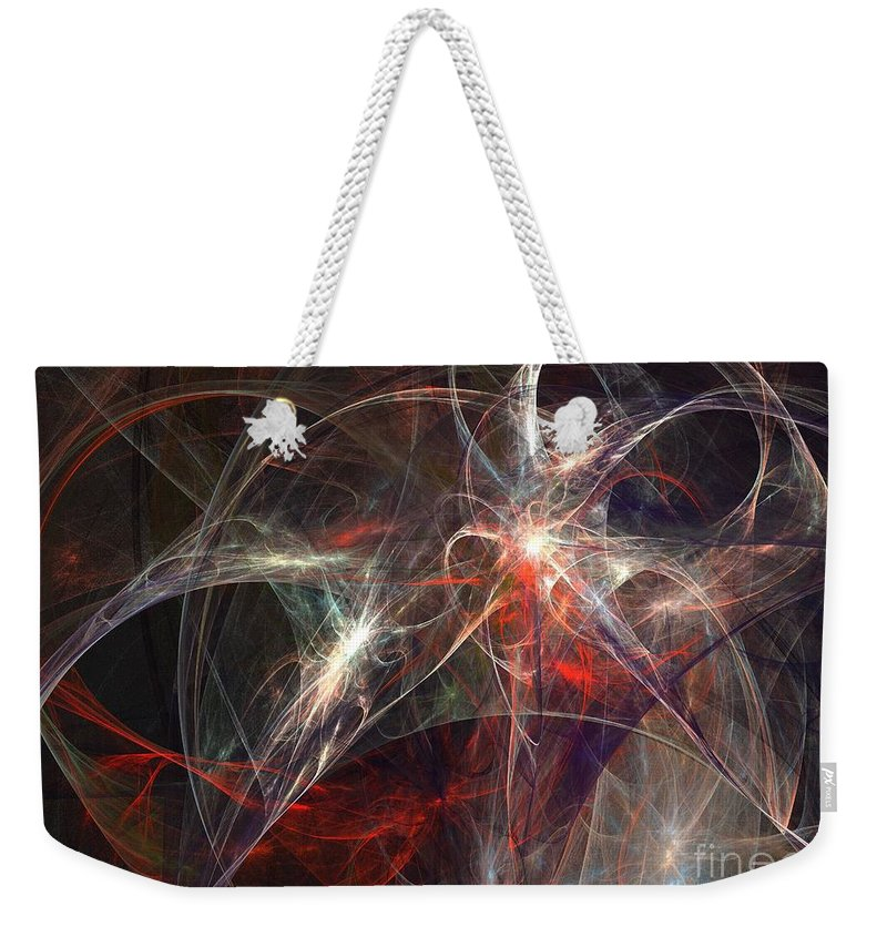 Apophysis Weekender Tote Bag featuring the digital art Corona Australis by Kim Sy Ok