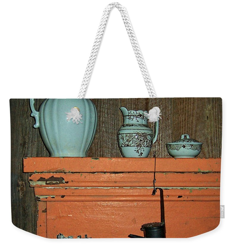 Country Weekender Tote Bag featuring the photograph Country At Its Best by Kathy Clark