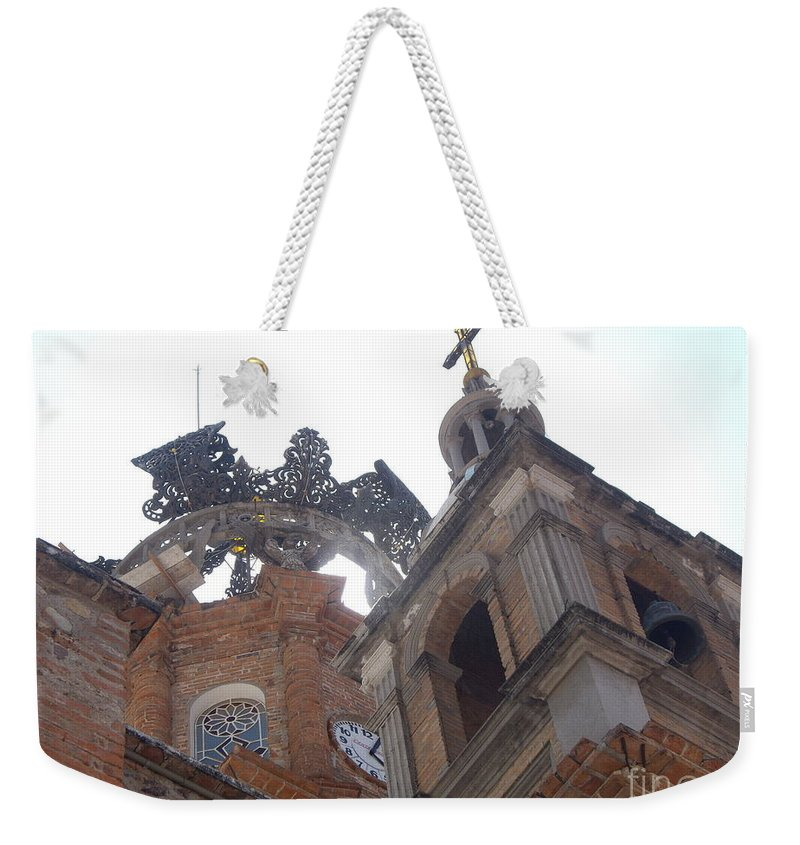 Aimee Mouw Weekender Tote Bag featuring the photograph Crown Of Our Lady Of Guadalupe by Aimee Mouw