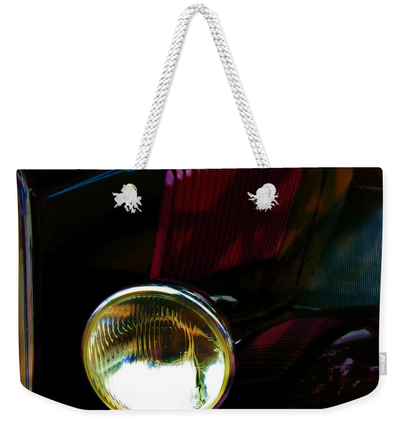 Car Weekender Tote Bag featuring the photograph Cruising 2 by Adam Vance