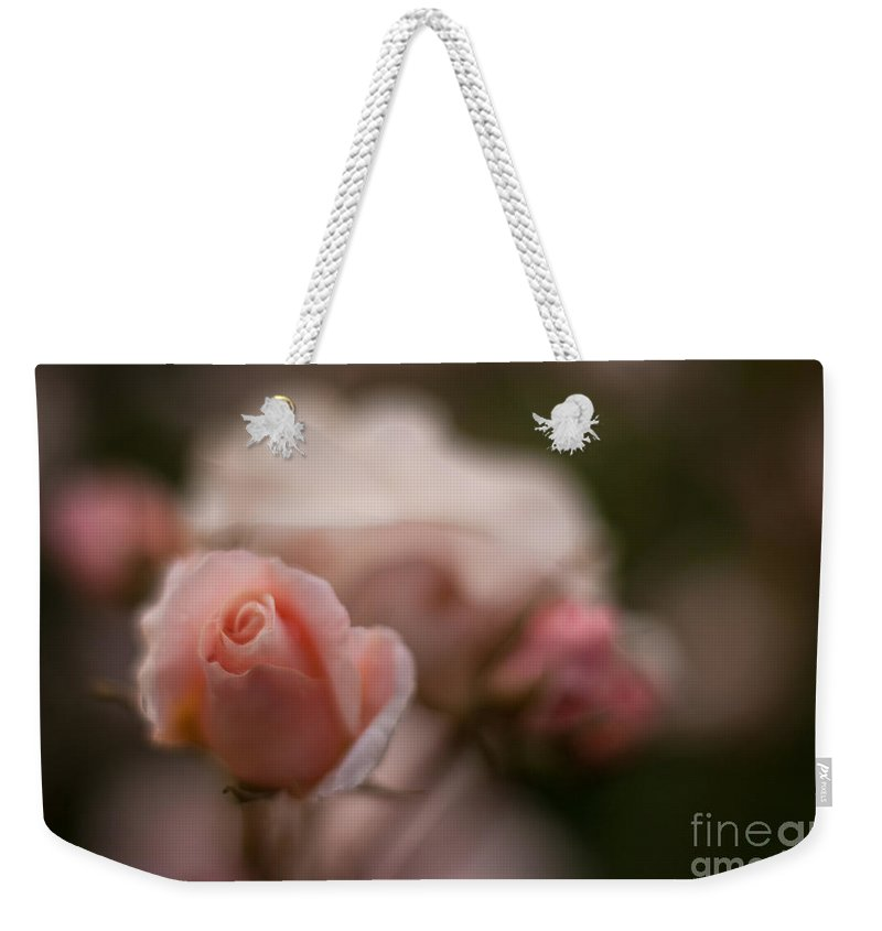 Flower Weekender Tote Bag featuring the photograph Curls by Mike Reid