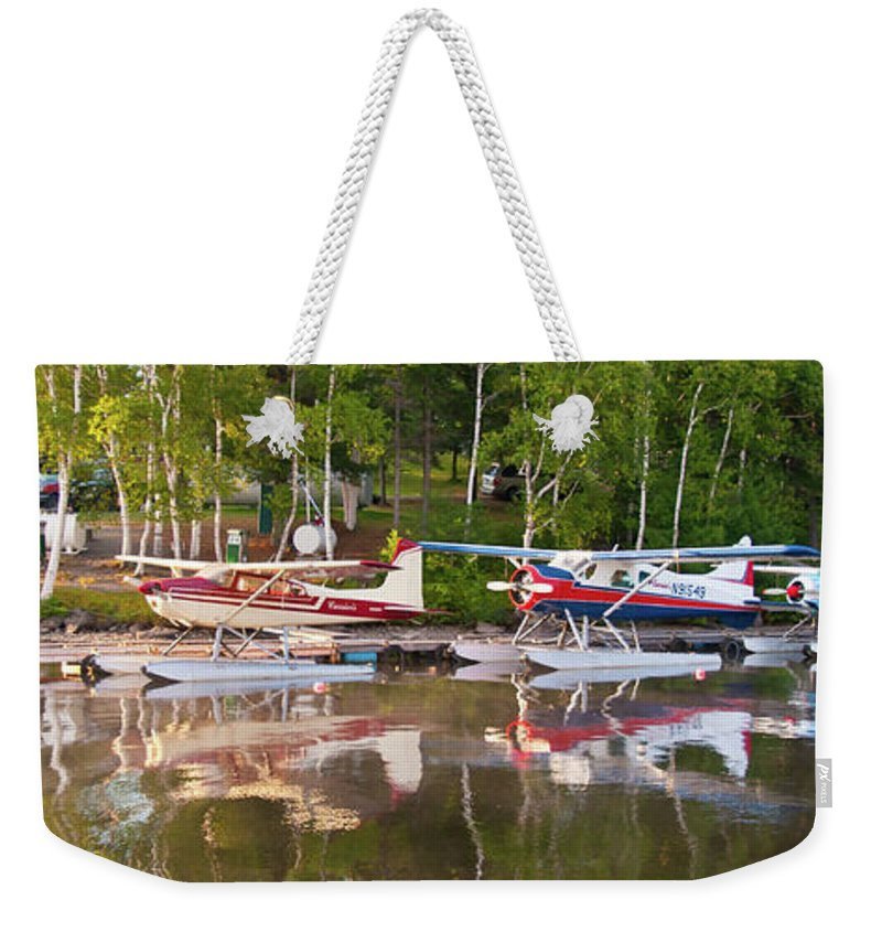 Greenville Weekender Tote Bag featuring the photograph Curriers by Guy Whiteley