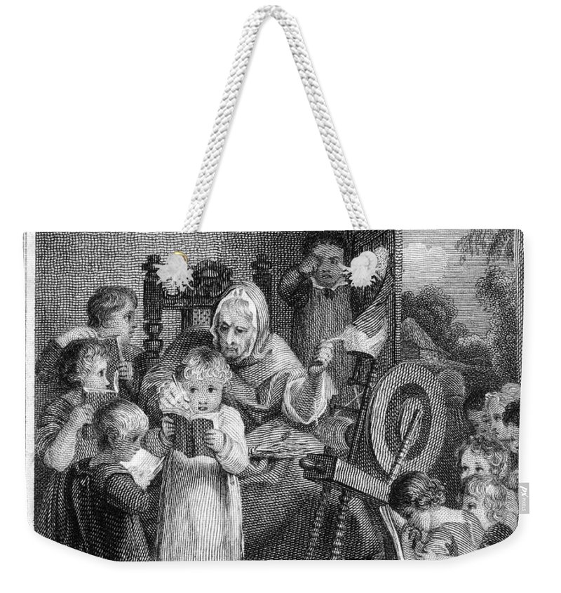 1812 Weekender Tote Bag featuring the photograph Dames School, 1812 by Granger