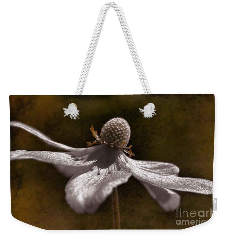 Flower Weekender Tote Bag featuring the photograph Dancing In The Breeze by Deborah Benoit
