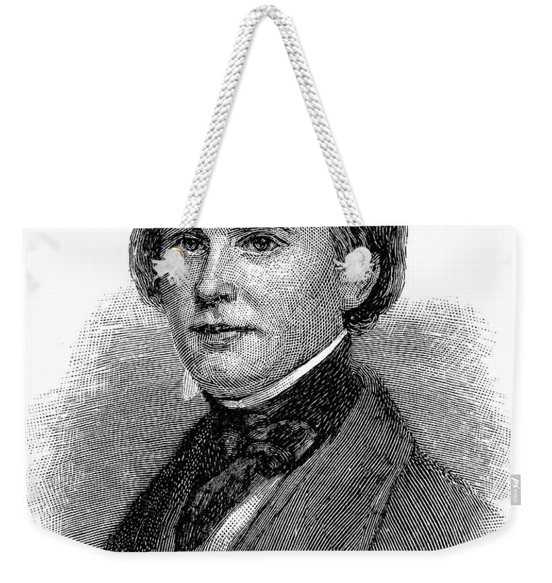 1889 Weekender Tote Bag featuring the photograph Daniel Decatur Emmett by Granger