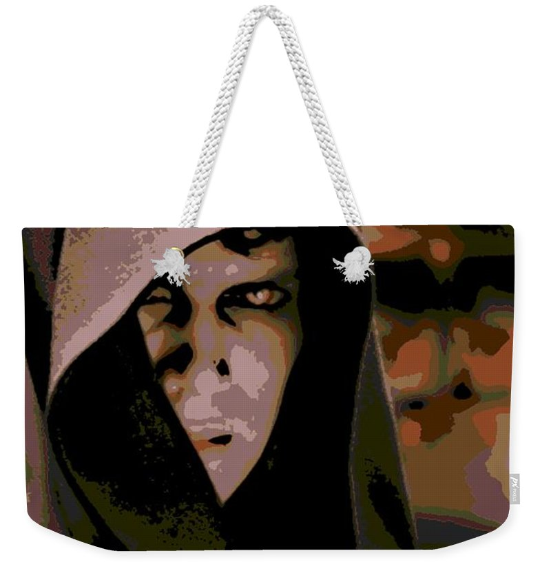 Anakin Skywalker Weekender Tote Bag featuring the photograph Darkness by George Pedro