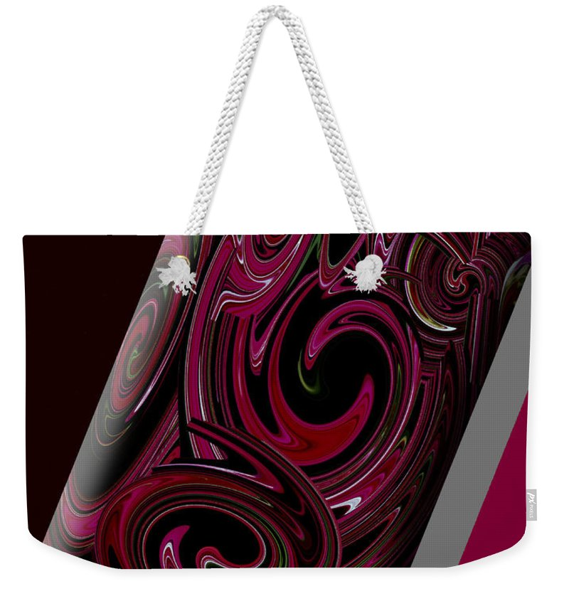 Abstract Weekender Tote Bag featuring the photograph Dazed And Confused by DigiArt Diaries by Vicky B Fuller