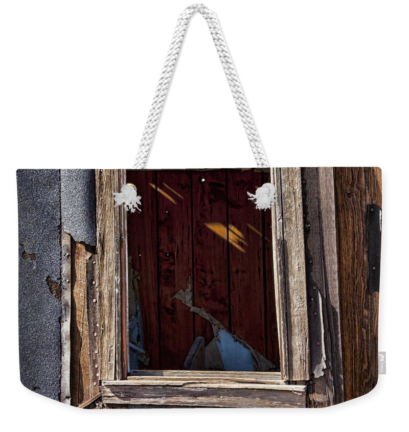 Old House Weekender Tote Bag featuring the photograph Decrepit by Kelley King