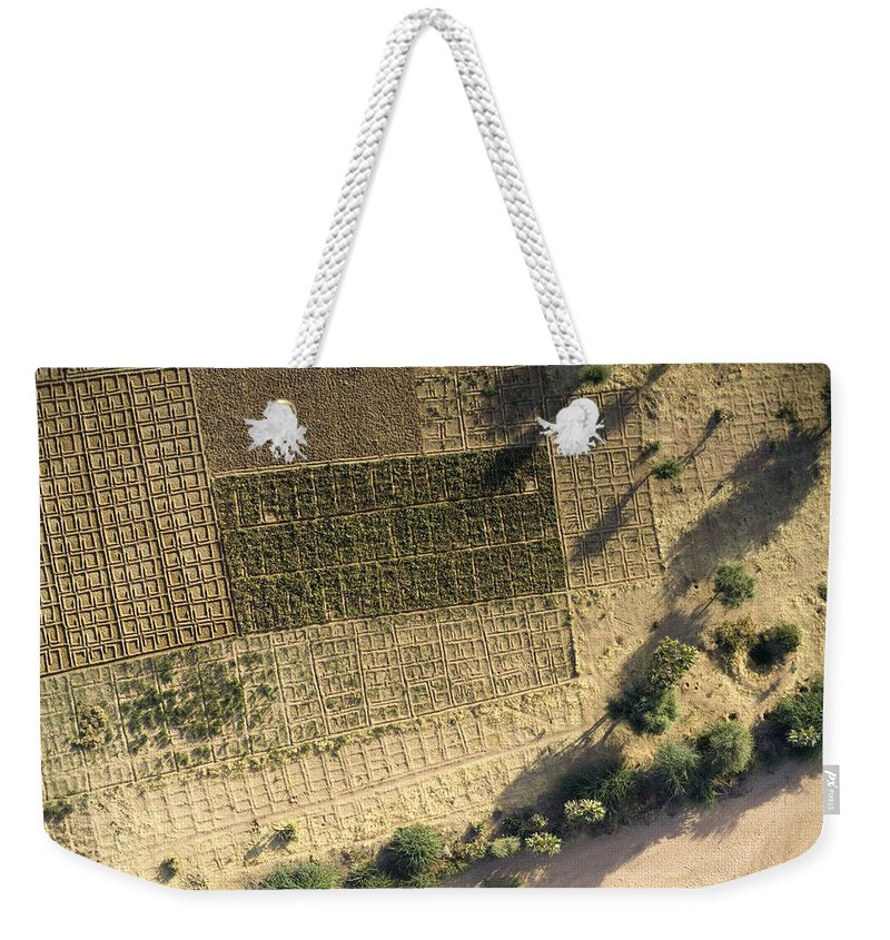 Landscape Weekender Tote Bag featuring the photograph Deep In The Air Mountains Every by Michael Fay