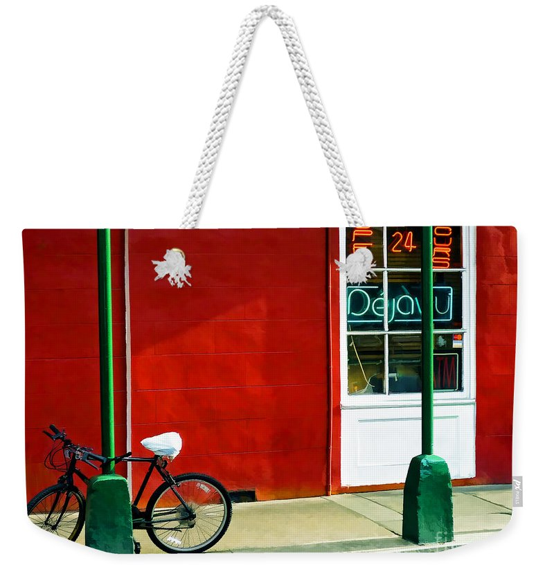 Deja Vu Weekender Tote Bag featuring the photograph Deja Vu by Kathleen K Parker