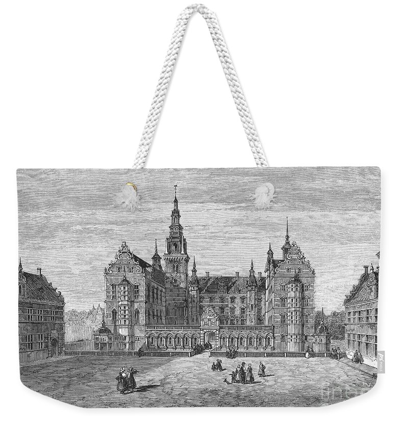 1863 Weekender Tote Bag featuring the photograph Denmark: Frederiksborg by Granger