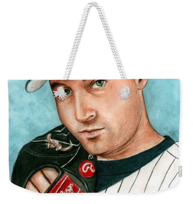 Athletes Weekender Tote Bags