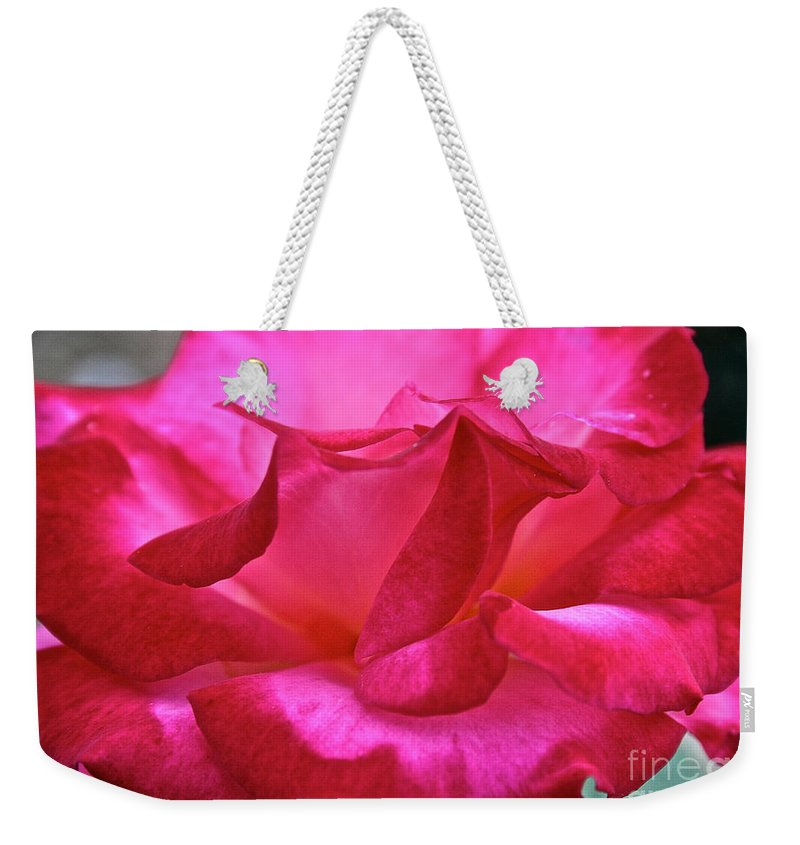 Outdoors Weekender Tote Bag featuring the photograph Dick Clark by Susan Herber