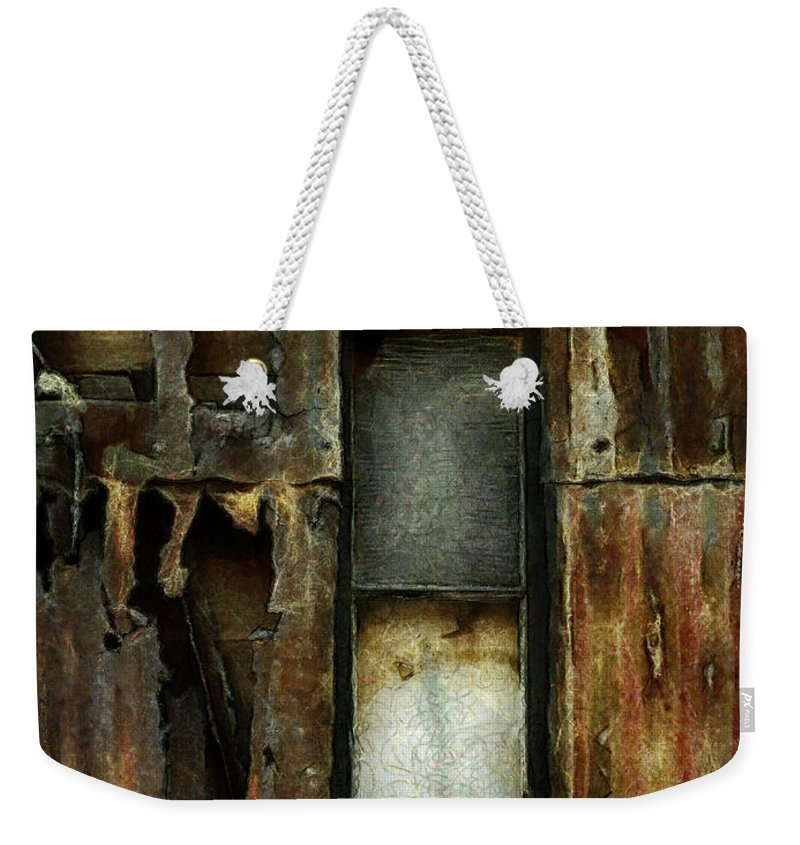 Dilapidated Weekender Tote Bag featuring the photograph Dilapidated by Steve Taylor