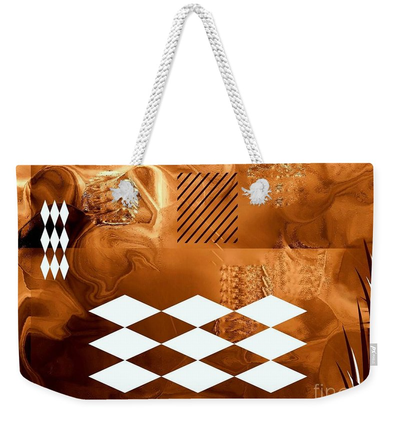 Disappointment Weekender Tote Bag featuring the digital art Disappointment by Klara Acel