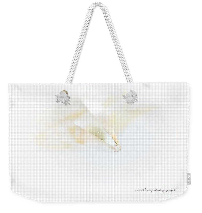 Magic Weekender Tote Bag featuring the photograph Divine Glow by Vicki Ferrari