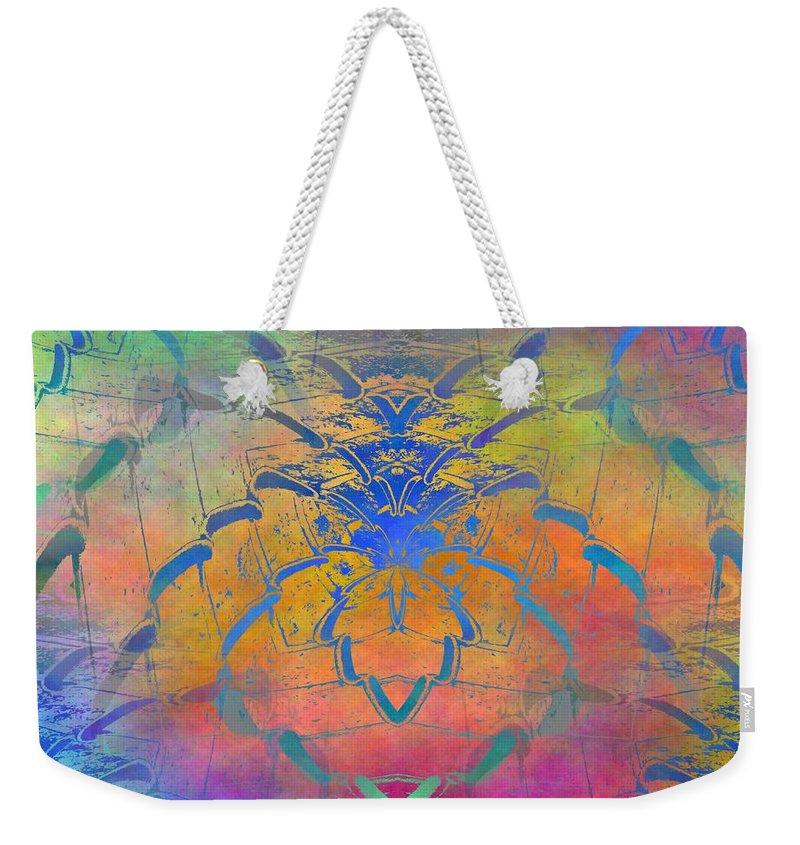 Fence Weekender Tote Bag featuring the digital art Dont Fence Me In by Tim Allen