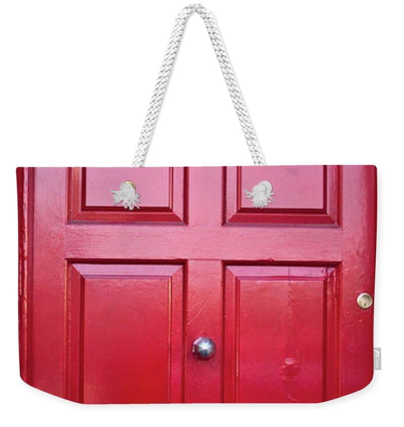 Door Weekender Tote Bag featuring the photograph Door In Ireland 5 by Douglas Barnett