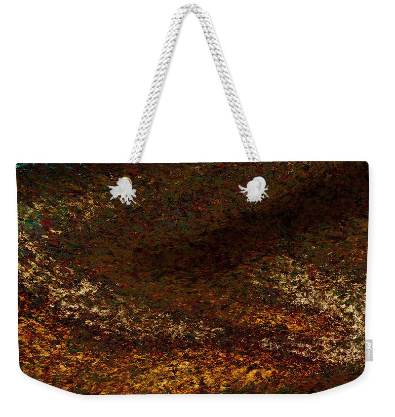 Weekender Tote Bag featuring the painting Dragon's Tale Macro1 by Christopher Gaston