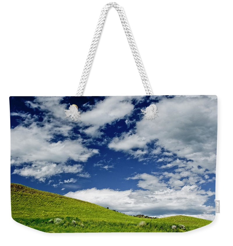 Americas Weekender Tote Bag featuring the photograph Dramatic Big Sky by Roderick Bley