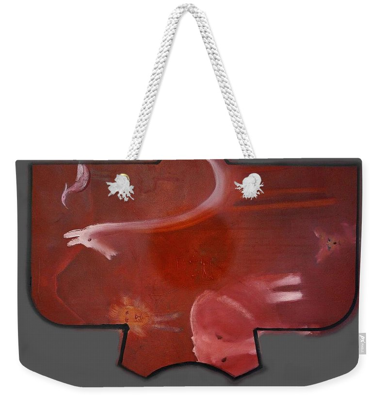 Dream Weekender Tote Bag featuring the painting Dream by Charles Stuart