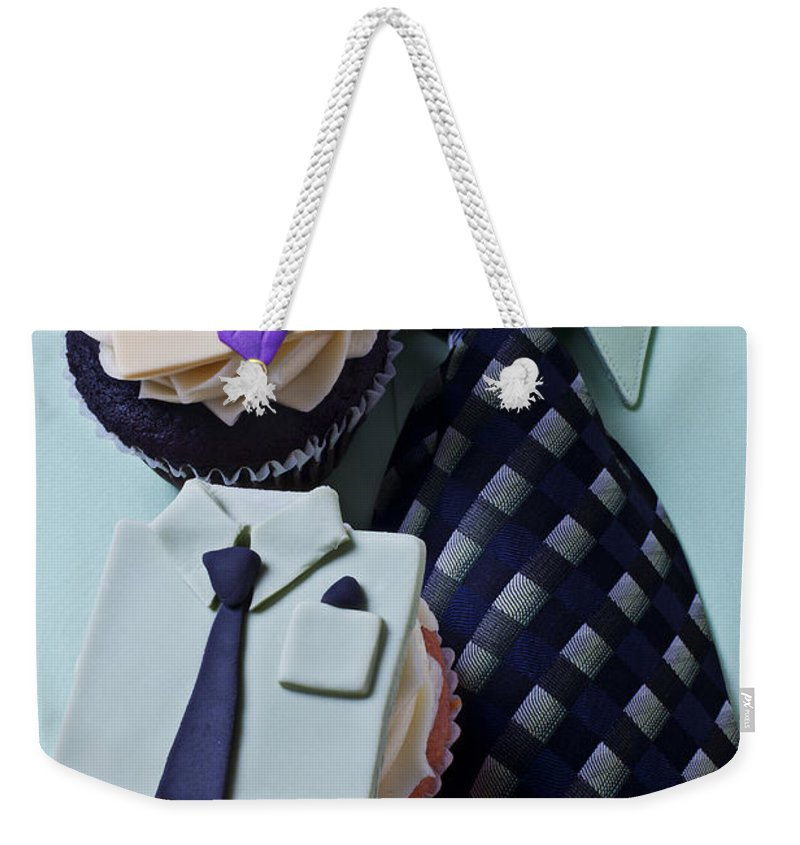Cupcakes Weekender Tote Bag featuring the photograph Dress Shirt Cupcakes by Garry Gay
