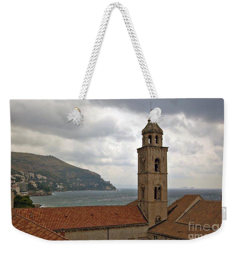 Dubrovnik Weekender Tote Bag featuring the photograph Dubrovnik View 3 by Madeline Ellis