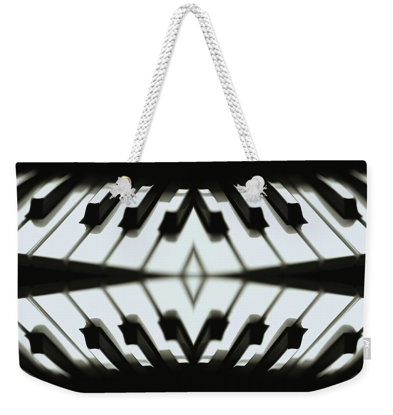 Magissimo Weekender Tote Bag featuring the digital art Duet by Maria Watt