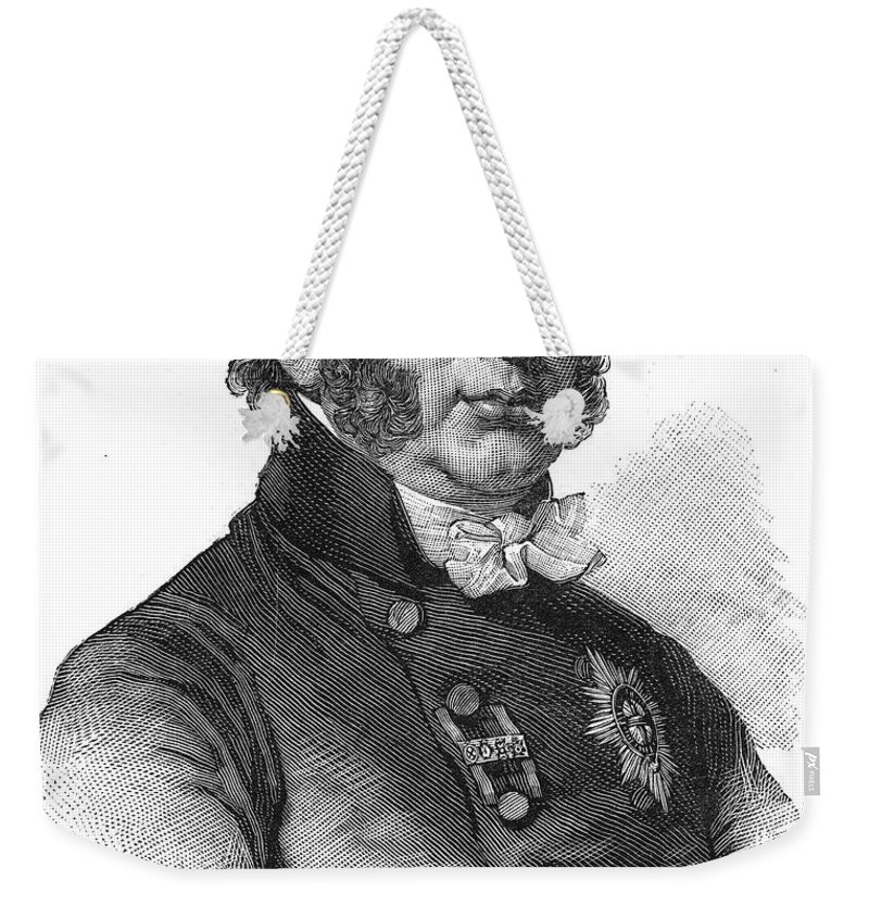 1886 Weekender Tote Bag featuring the photograph Duke Of Kent (1767-1820) by Granger