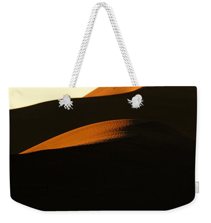 Africa Weekender Tote Bag featuring the photograph Dune Mood by Alistair Lyne