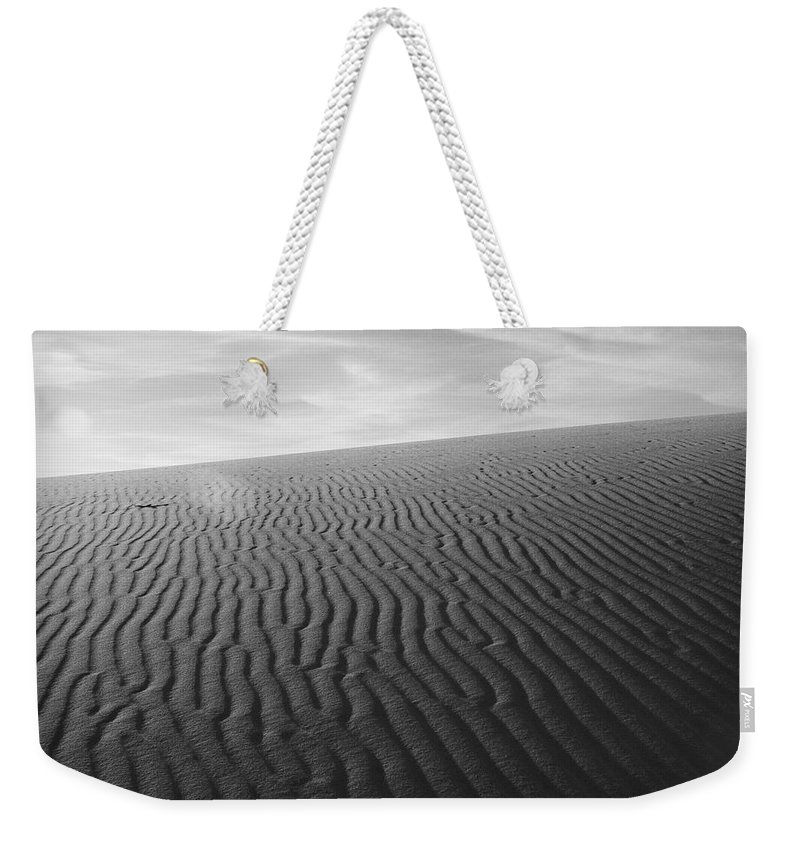 New Mexico Weekender Tote Bag featuring the photograph Dunes 3 by Sean Wray