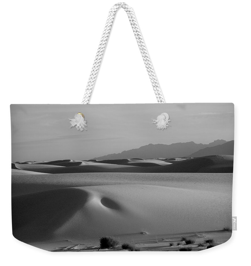 New Mexico Weekender Tote Bag featuring the photograph Dunes 5 by Sean Wray