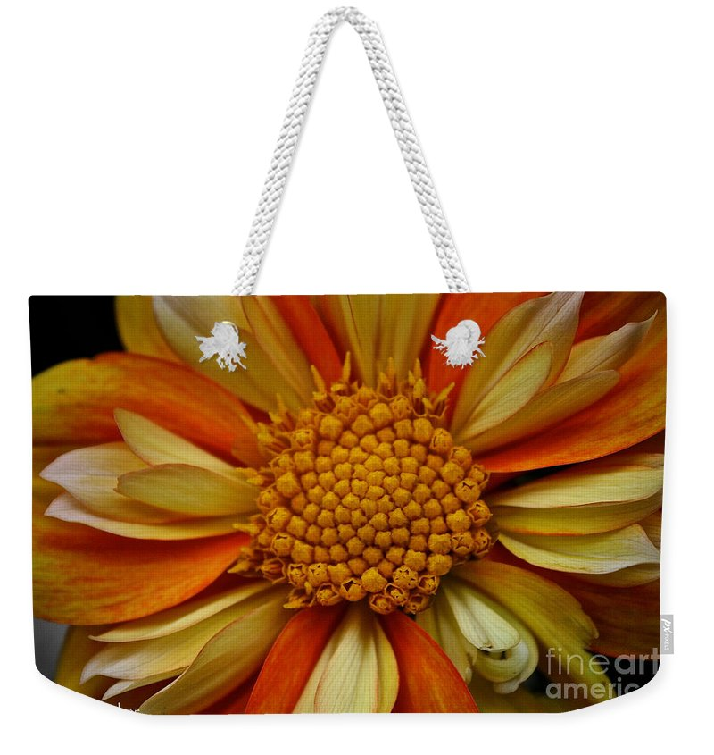 Floral Weekender Tote Bag featuring the photograph E Z Duzzit by Susan Herber